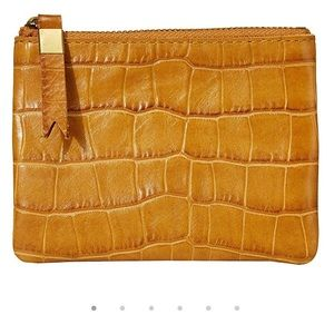 Madewell Leather Pouch Wallet in Crono